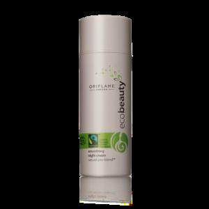 Разглаживающий ночной крем с питательными маслами Ecobeauty