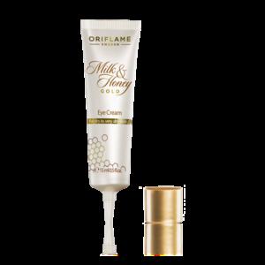 Крем для кожи вокруг глаз «Молоко и мед – Золотая серия»