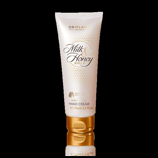 Увлажняющий крем для рук «Молоко и мед – Золотая серия»
