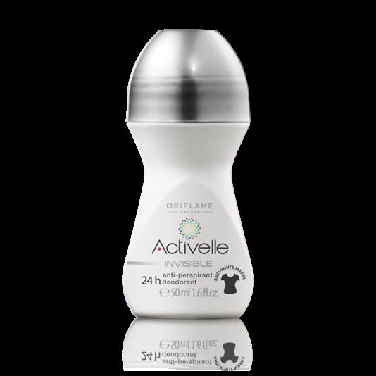 Шариковый дезодорант-антиперспирант 24-часового действия без белых следов «Активэль»