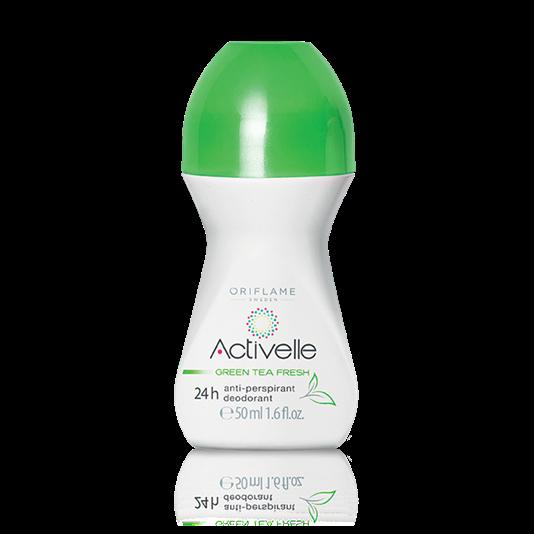 Шариковый дезодорант-антиперспирант 24-часового действия с экстрактом зеленого чая «Активэль»