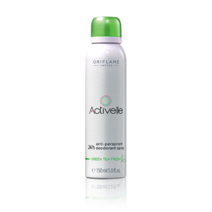 Спрей дезодорант-антиперспирант 24-часового действия с экстрактом зеленого чая «Активэль»