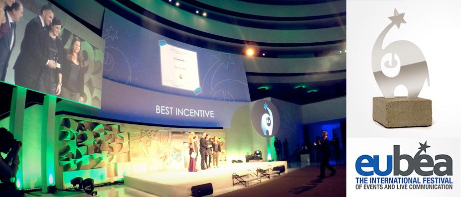 Компания Орифлэйм получила награду European Best Event Awards