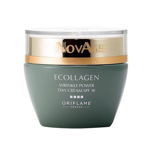 Дневной крем против морщин SPF 30 NovAge Ecollagen Wrinkle Power