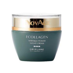 Ночной крем против морщин NovAge Ecollagen Wrinkle Power